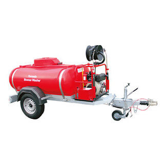 Trailer Bowser & Pressure Washer - Diesel